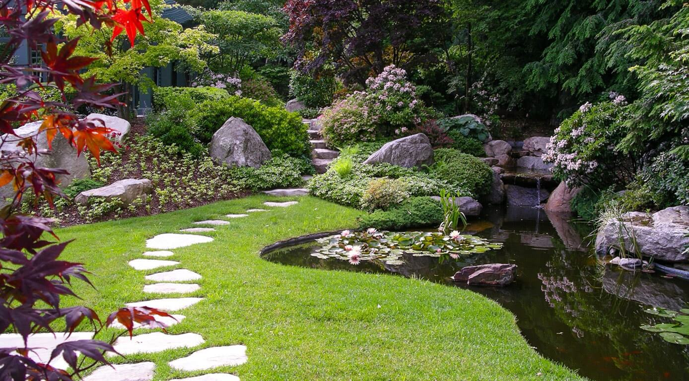 Стили ландшафтного дизайна и их характерные черты: классический, современный и пейзажный  - 28 фото
