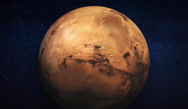 Марс — четвертая планета от солнца. описание + фото • cosmos agency