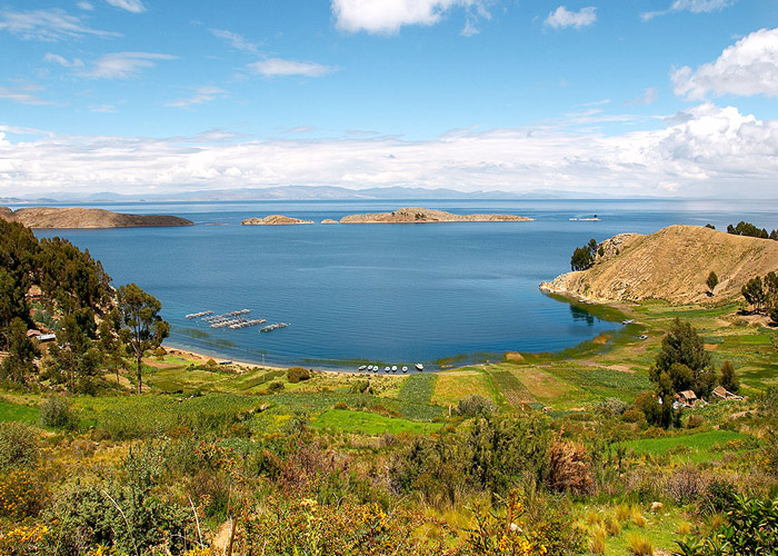 Перу. озеро титикака