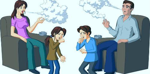 Пассивное курение: что это такое, его влияние на здоровье