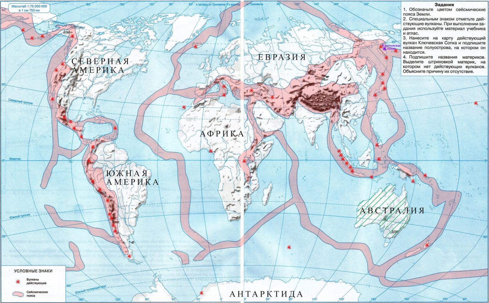 Сейсмические пояса земли. названия сейсмических поясов земли