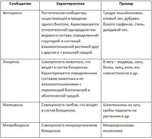 Биоценоз — википедия
