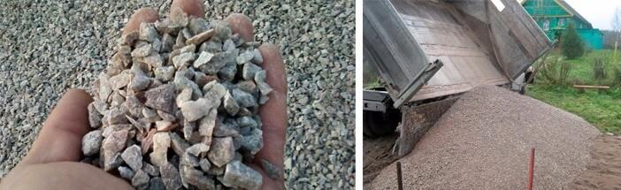 Характеристики гранитного щебня и отсева