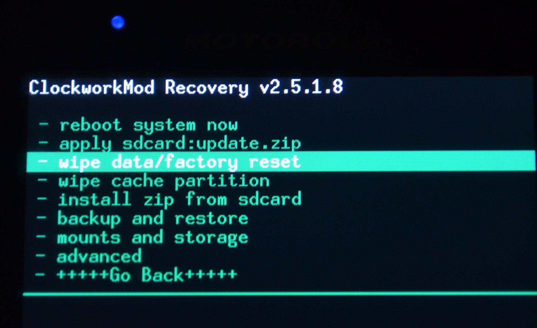 Wipe data factory reset: что это такое и как правильно сбросить настройки на android - [решено]