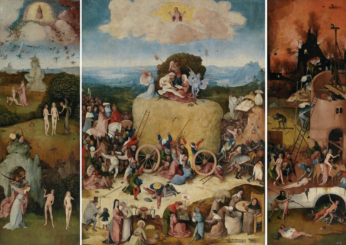 Картины триптих: что это такое (10 фото)