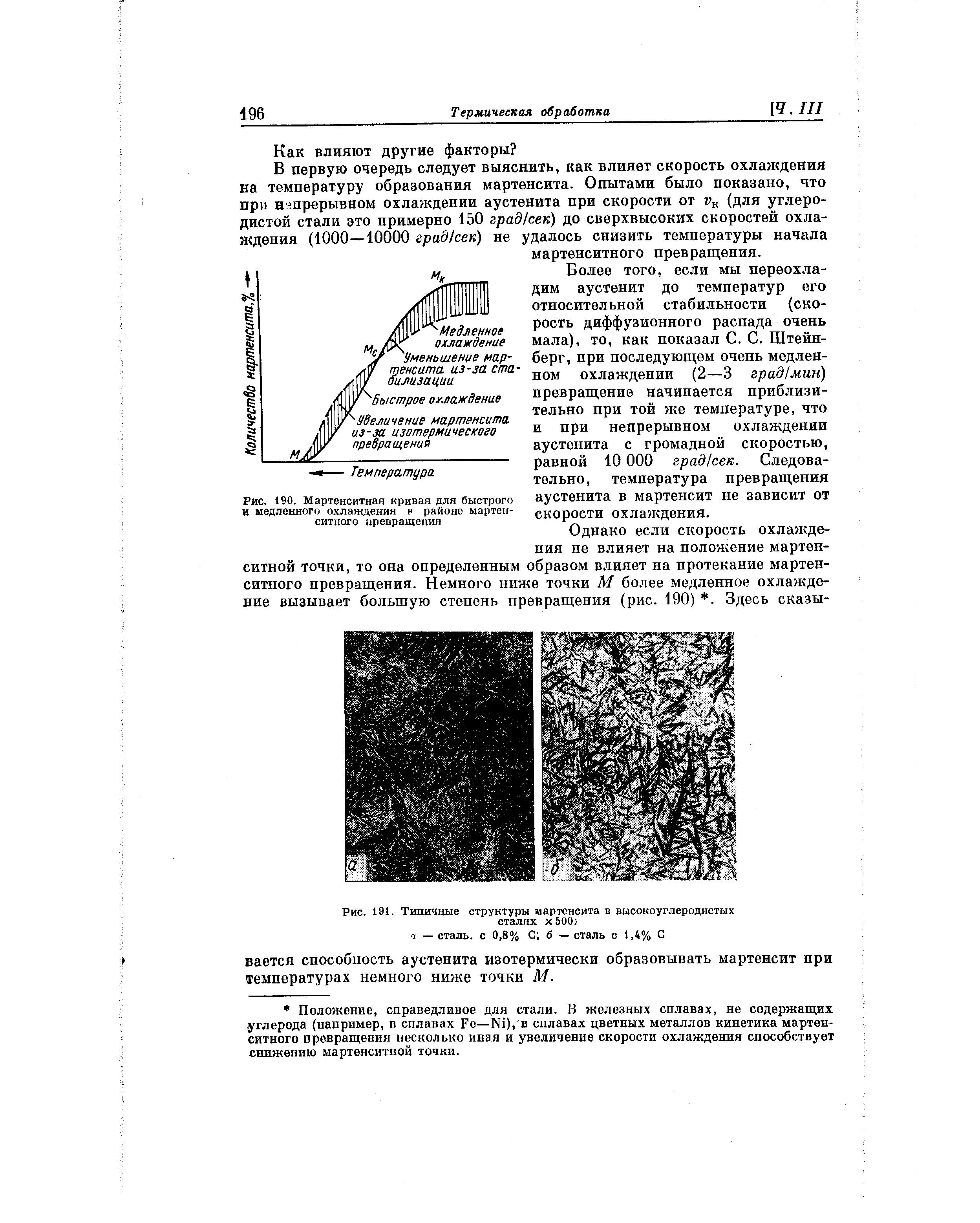 Мартенсит и мартенситные стали — структура, кристаллическая решетка, свойства