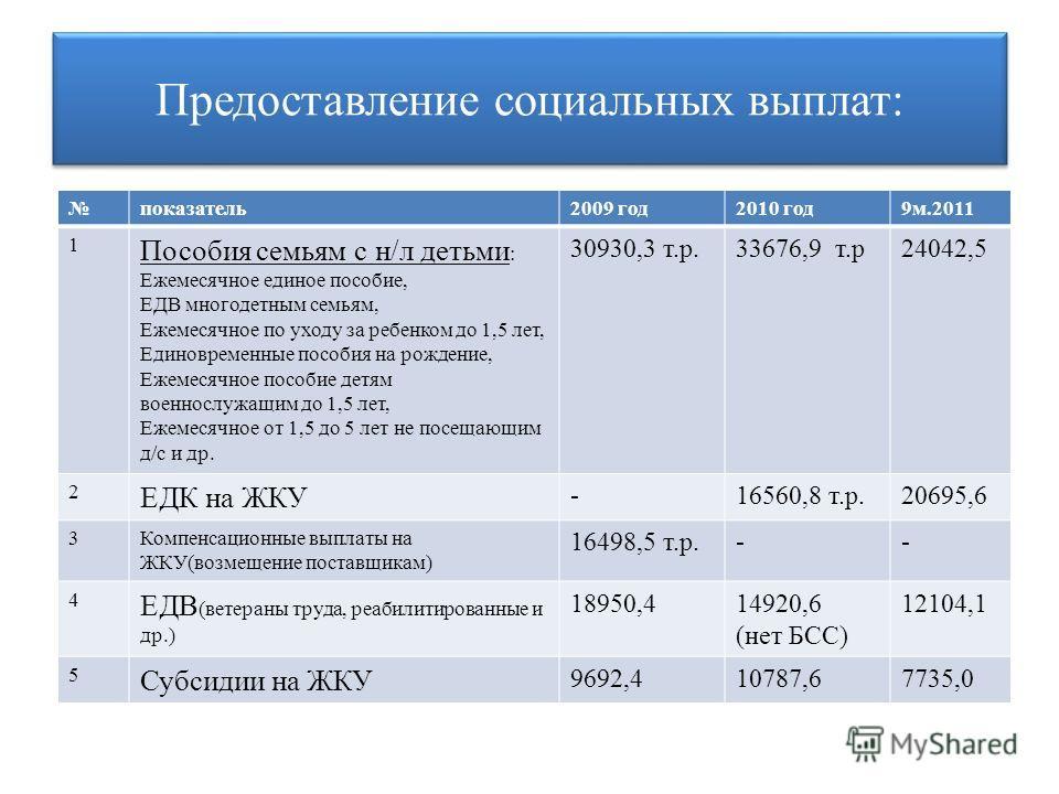 Виды социальных выплат, размеры, кому положены и как получить :: businessman.ru