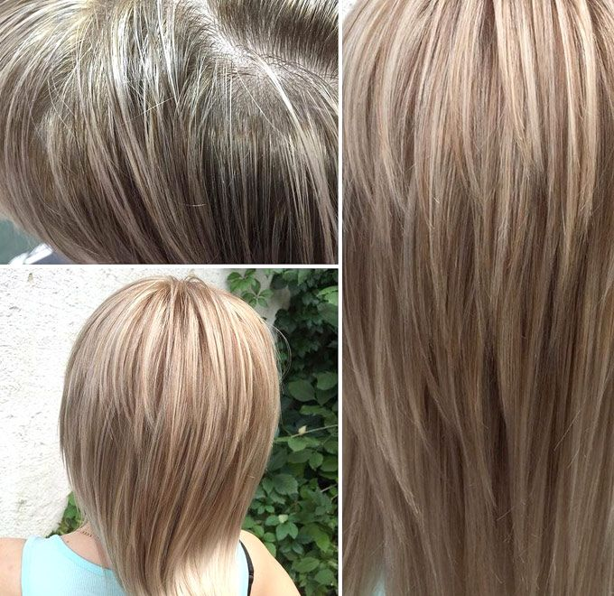 Тонирование волос в домашних условиях: фото (до и после)