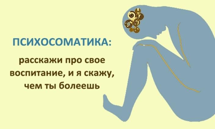 Психосоматика - что это в психиатрии, какие бывают психосоматические заболевания