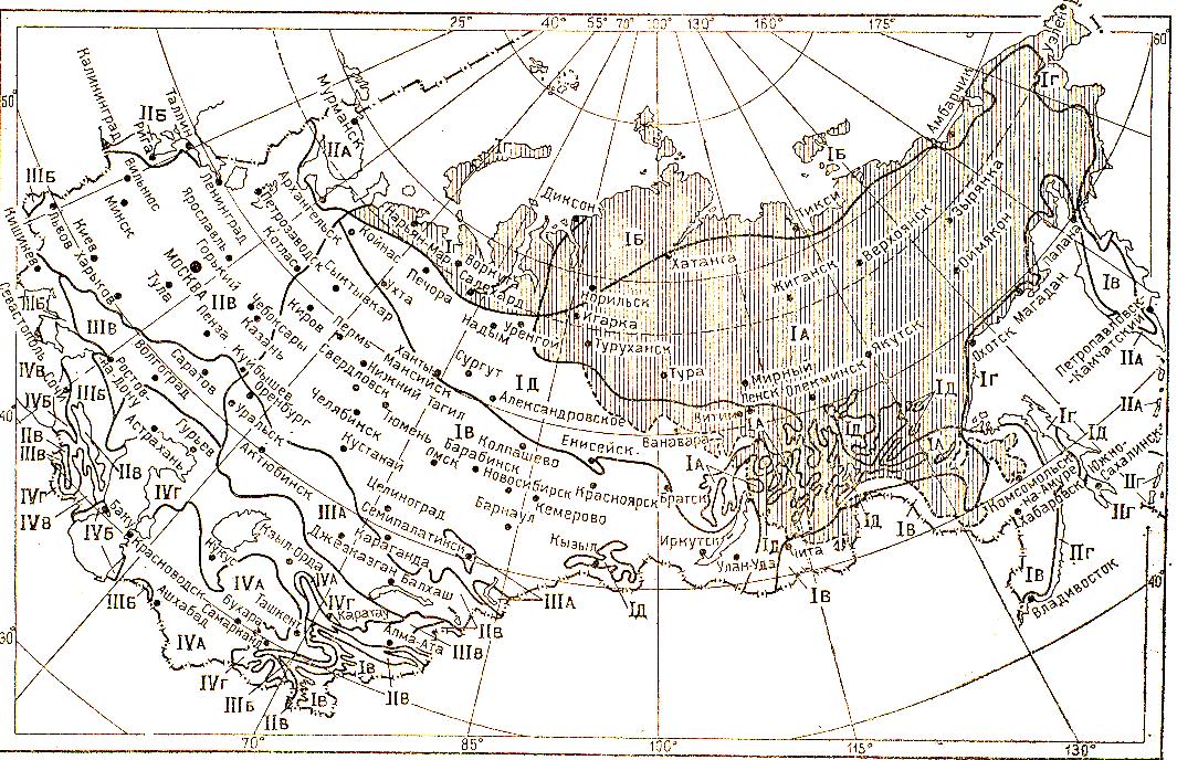Природные условия россии. география 9 класс