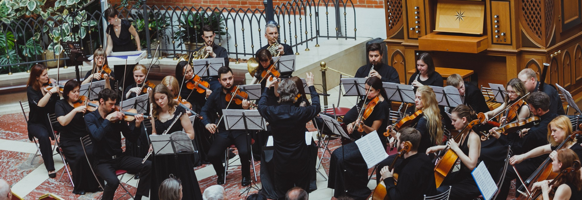 Симфонический оркестр — википедия