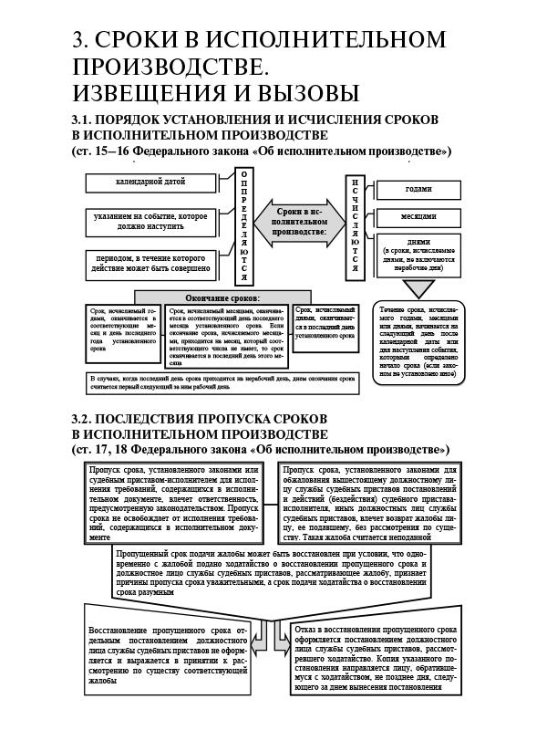 Меры принудительного исполнения: их виды, классификация, общая характеристика