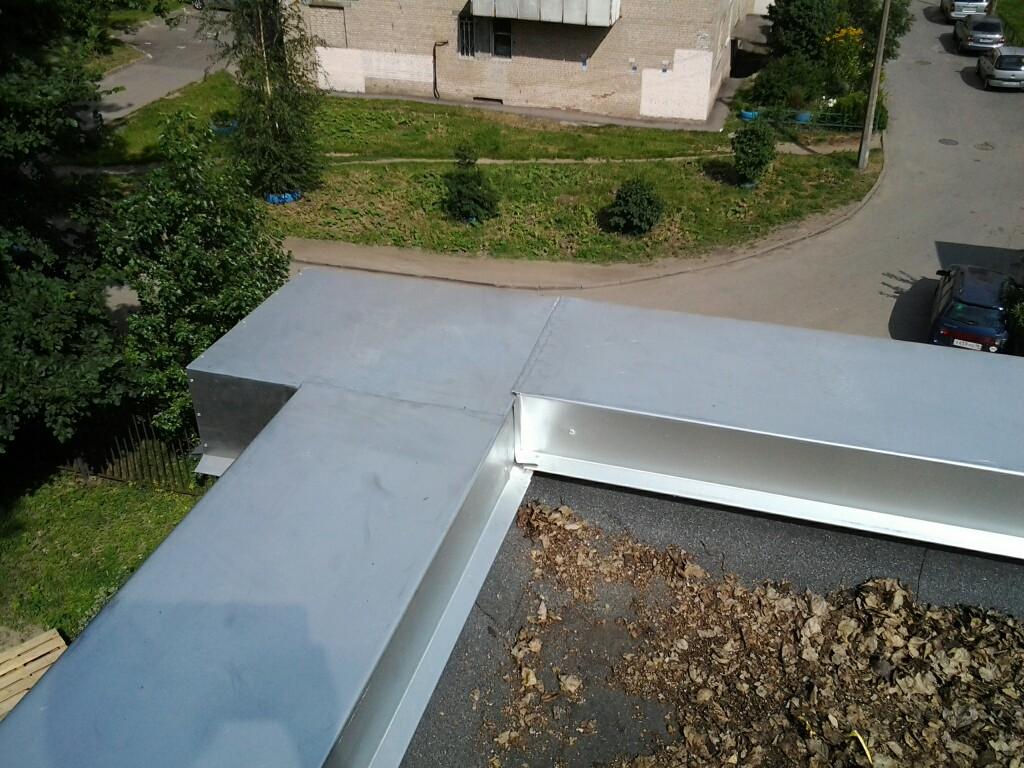Парапет крыши — что это такое, фото