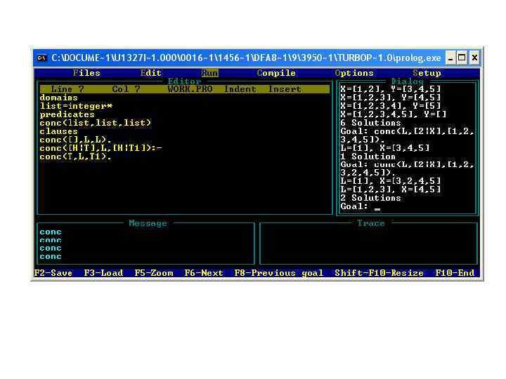 Prolog – язык и система логического программирования / хабр