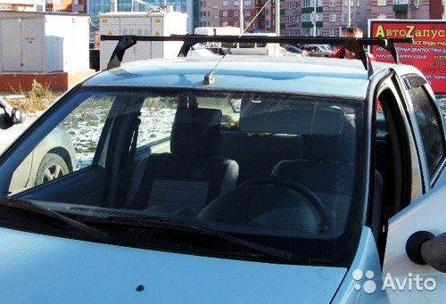 Экспедиционный багажник на рейлинги автомобиля