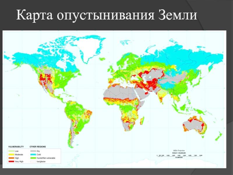 Опустынивание и засуха (видео)