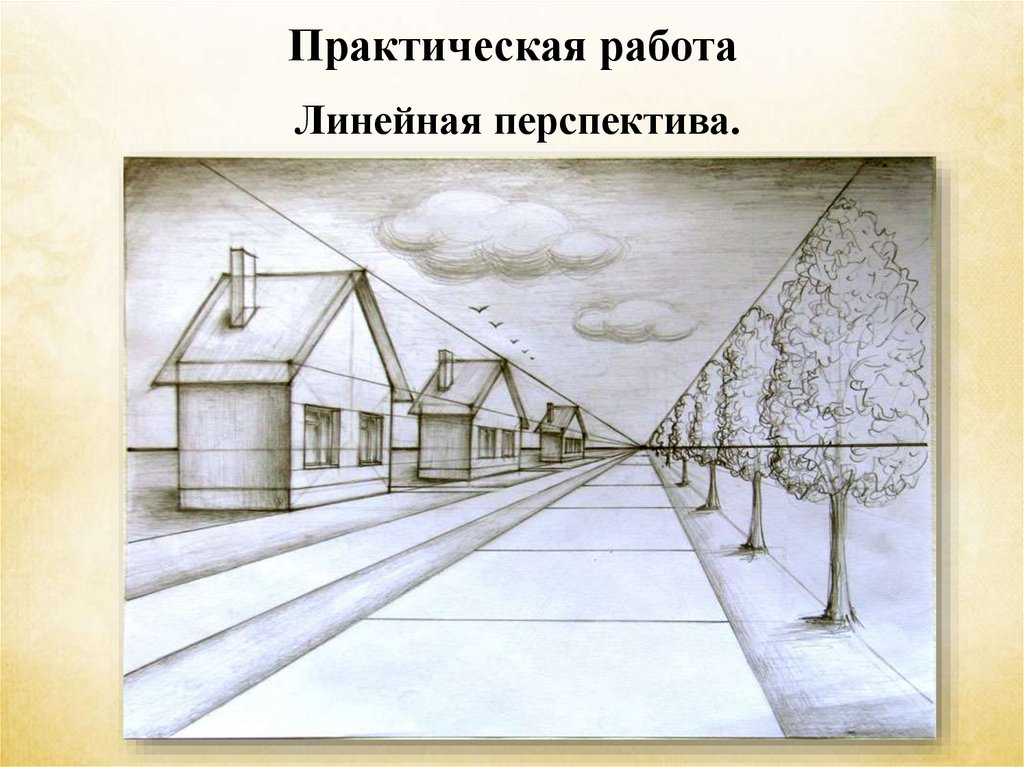 Что означает слово перспектива. виды перспективы в изобразительном искусстве