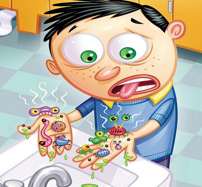 Мизофобия - это боязнь грязи и микробов