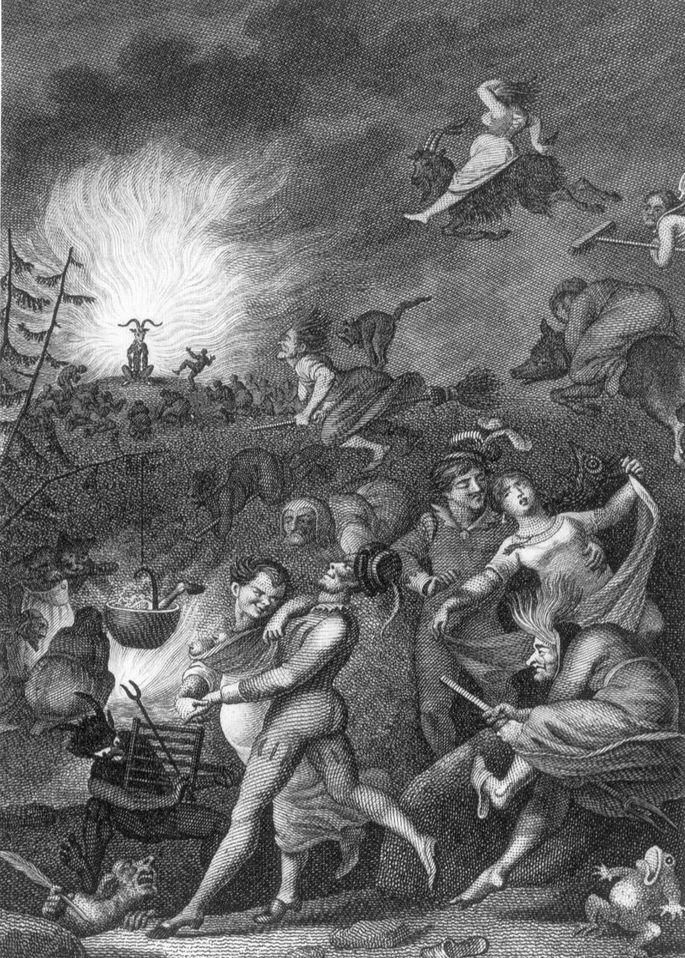 Вальпургиева ночь — википедия. что такое вальпургиева ночь