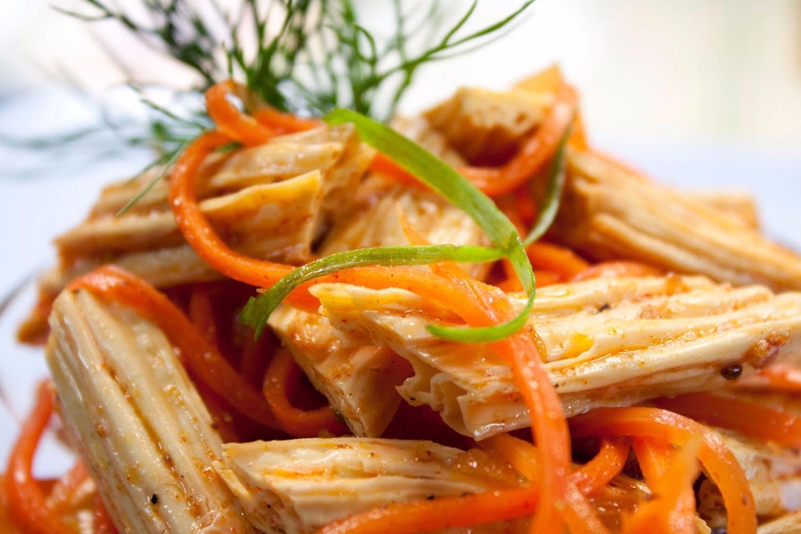 Спаржа по-корейски с мясом от натальюшки – кулинарный рецепт
