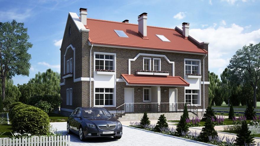 Дом-дуплекс – основные характеристики, отличия и преимущества
