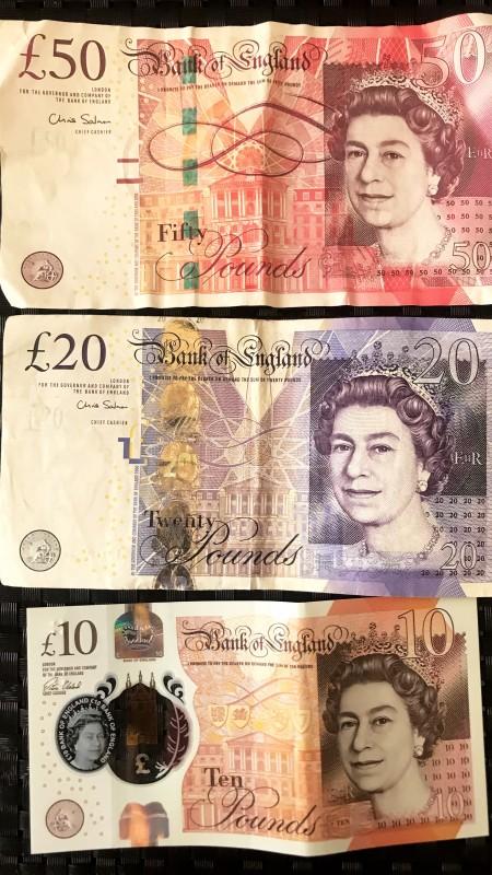 Фунт стерлингов (£)