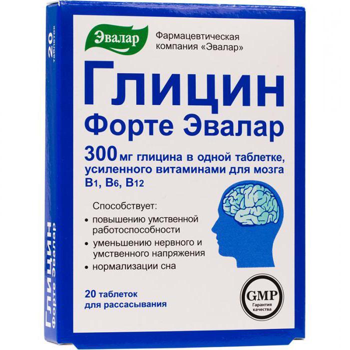 Глицин и его свойства, роль в организме аминокислоты: химические, физические, амфотерные, лечебные, фармакологические, противопоказания