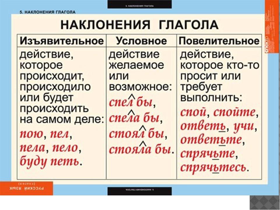 Что такое глагол в русском языке?