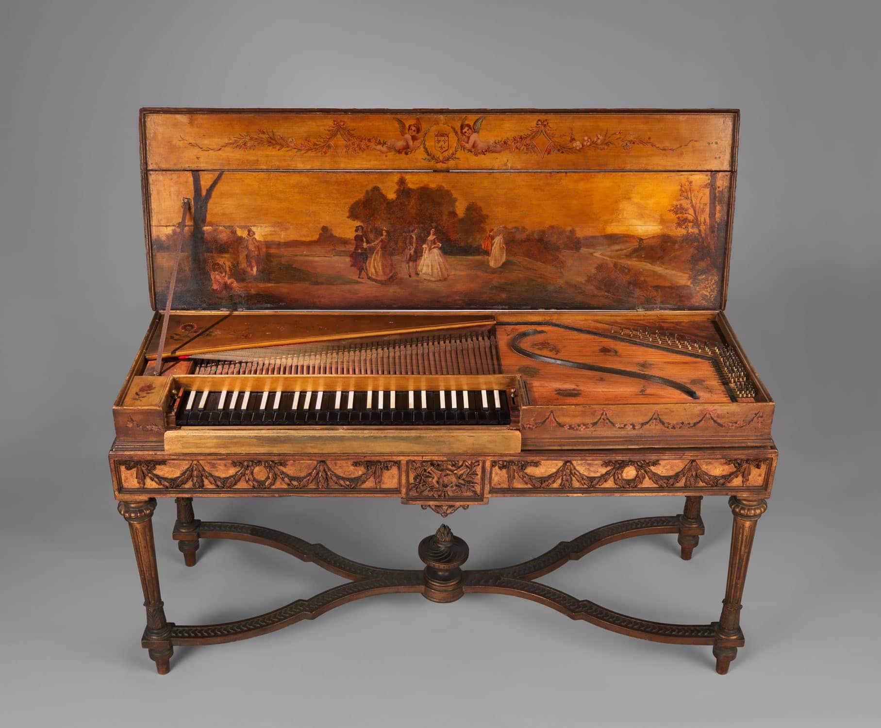 Клавесин - музыкальная энциклопедия - словари и энциклопедии
