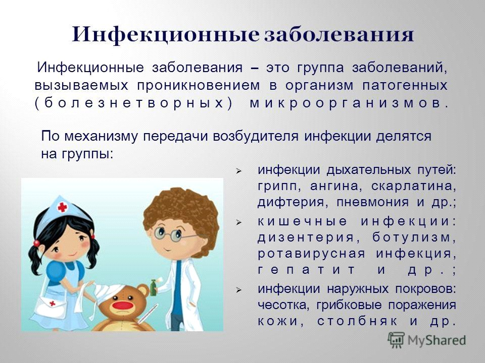 Инфекционные болезни - симптомы и лечение. журнал медикал