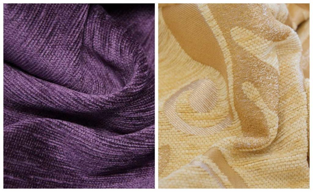 Ткань шенилл для дивана — характеристики, фото, отзывы, сравнение
