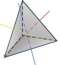 Правильный тетраэдр — википедия. что такое правильный тетраэдр