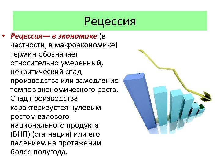 Рецессия в экономике: что это такое