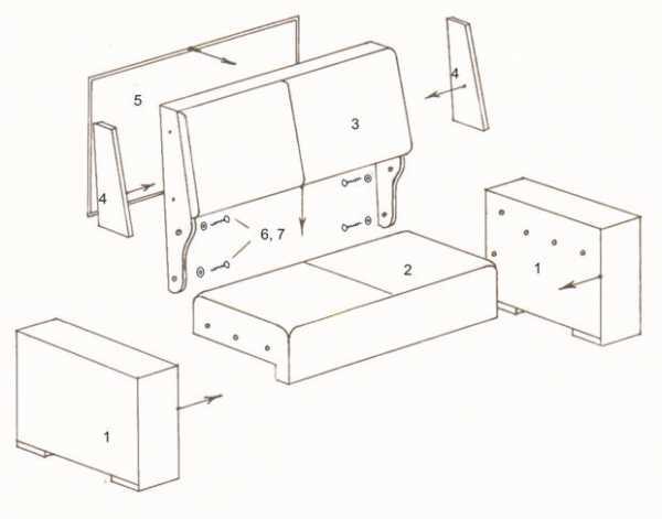Тахта-кровать, особенности, плюсы и минусы, материалы, критерии выбора
