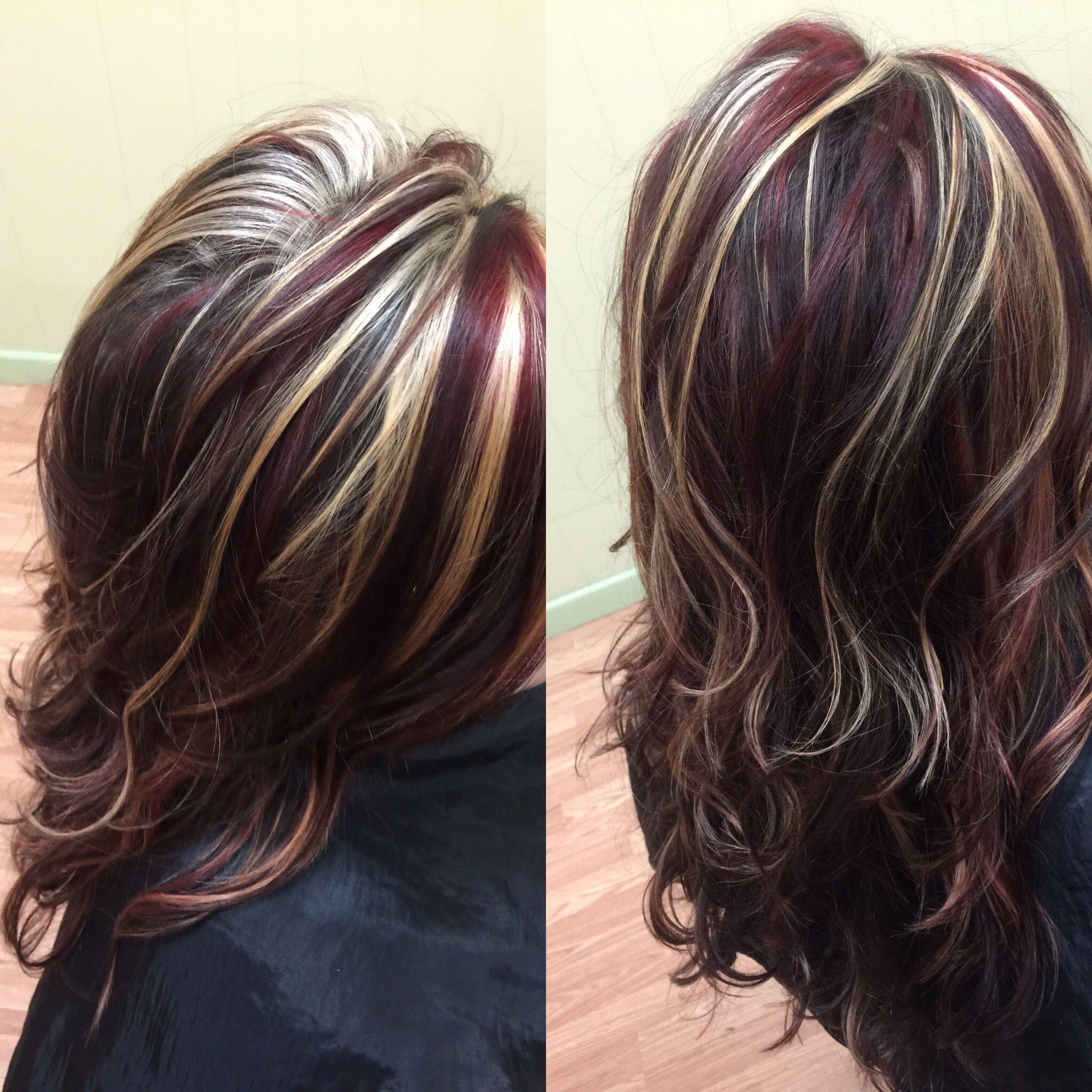 Колорирование темных волос - короткие, средние и длинные в домашних условиях
