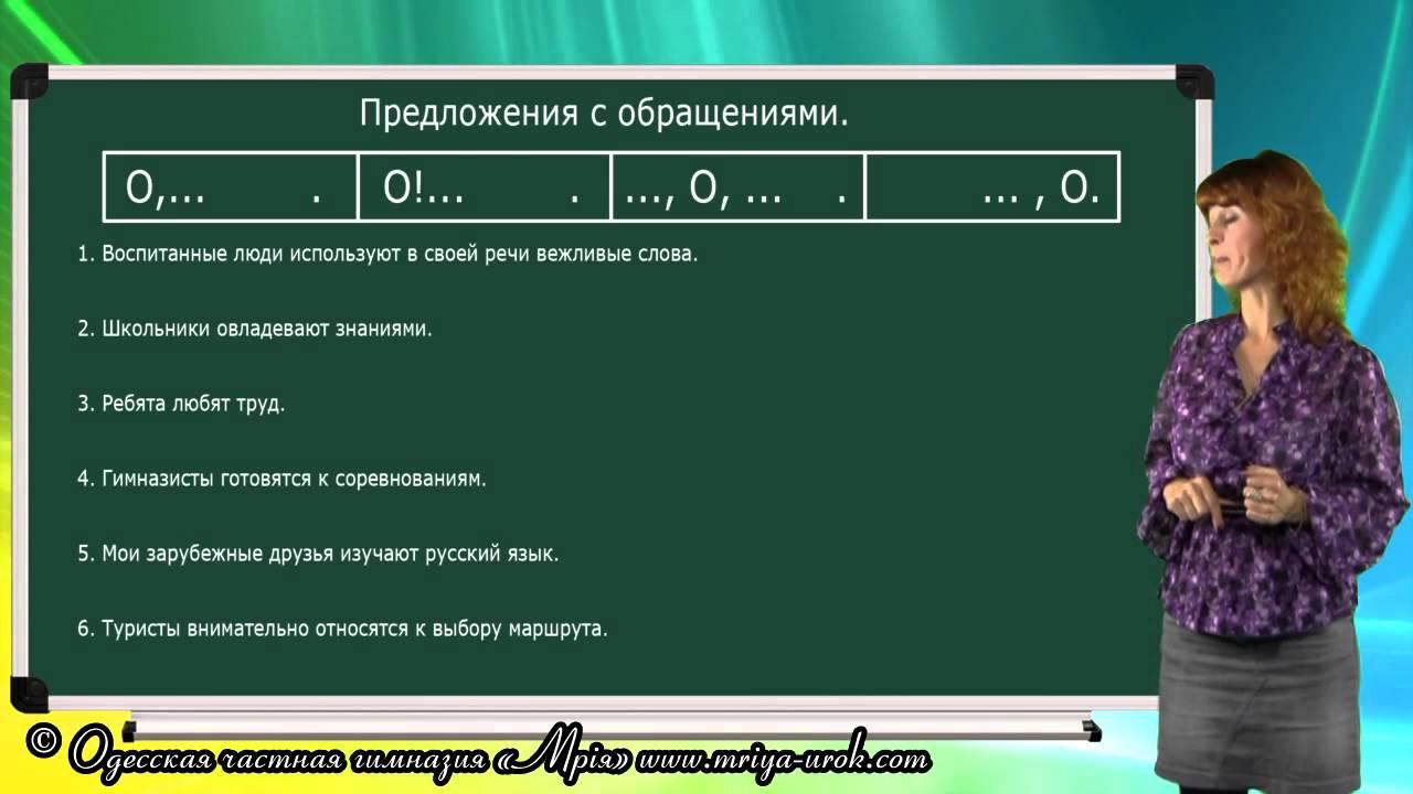 Что такое обращение в русском языке – примеры, правило, знаки препинания (5 класс, русский язык)