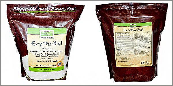 Сахарозаменитель полиол эритрит – отзывы, рецепты, фото