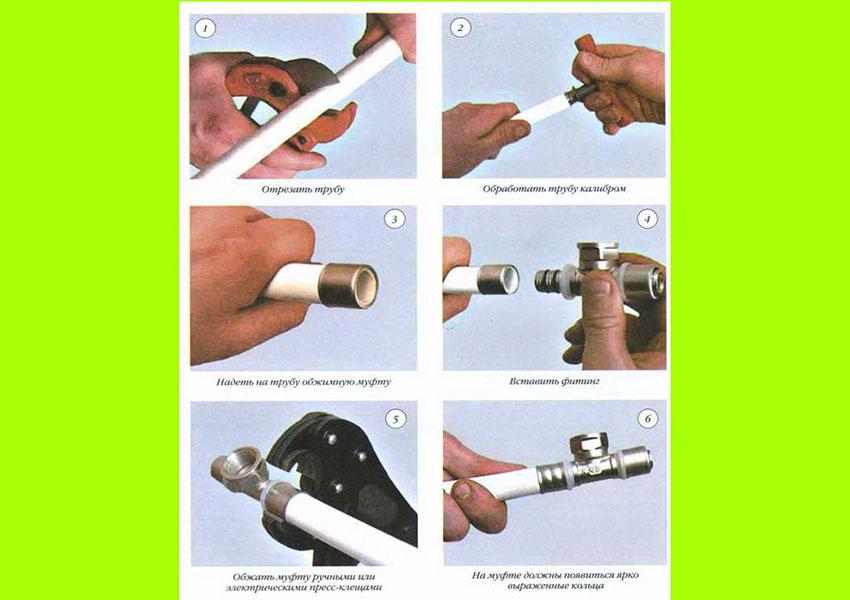 Американка: сантехника и способы соединений труб из различных материалов