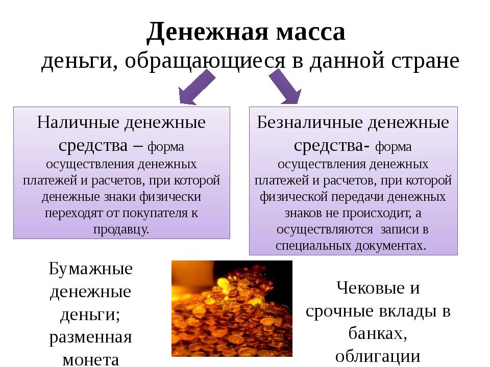 Денежная масса, денежные агрегаты. динамика в россии и разных странах