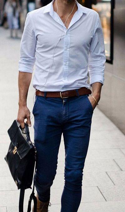 Сорочка мужская - это часть деловой или торжественной одежды
