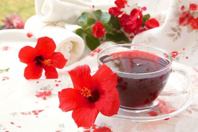 Чай каркаде польза и вред в какое время пить при давлении?