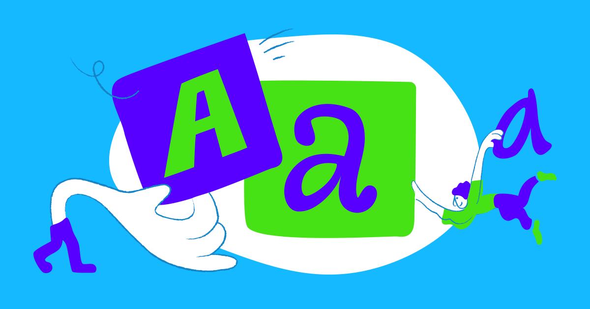 Определить шрифт по картинке онлайн