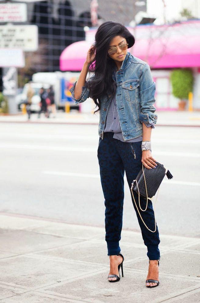 Женские джоггеры: что это такое, с чем носить спортивные штаны, стильные образы с фото