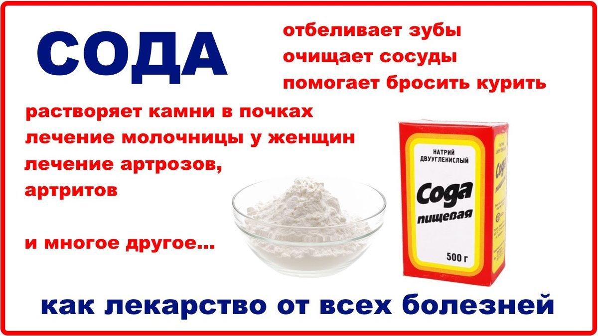 Пищевая сода: польза и вред для организма, применение | пища это лекарство