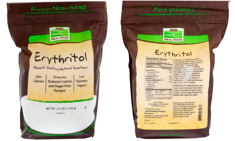 Эритритол — что это, вред и польза