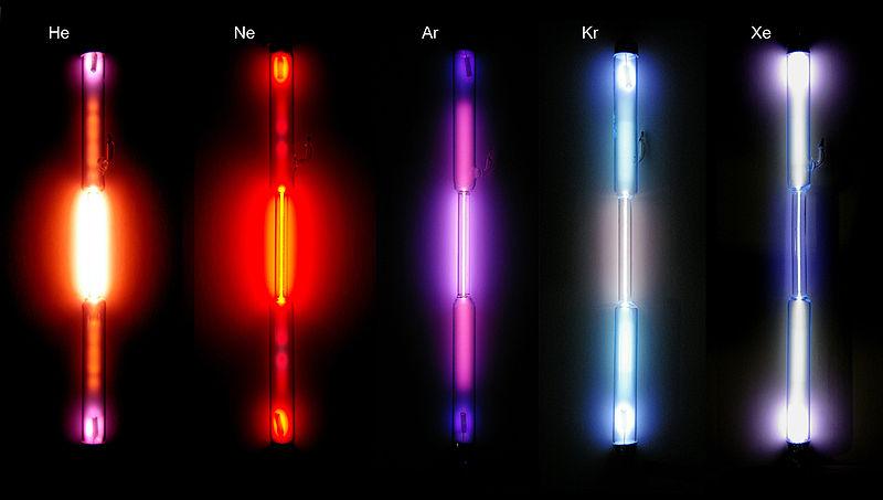Неон химический элемент