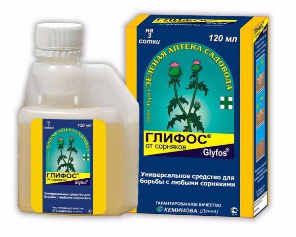 Гербицид глифосат - инструкция и регламент применения