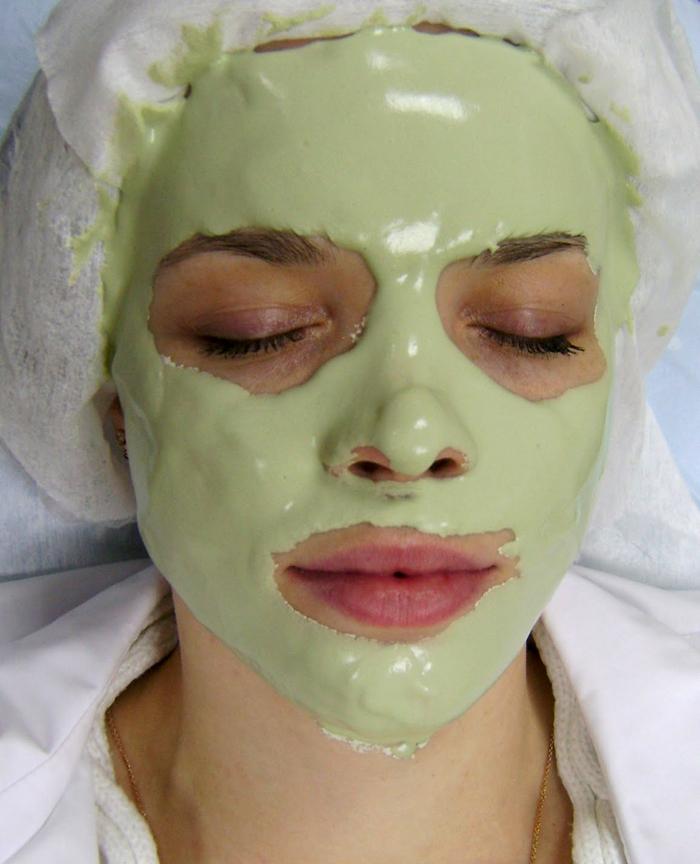 Альгинатная маска для лица, альгинат в косметологии, курс корейских альгинатных масок