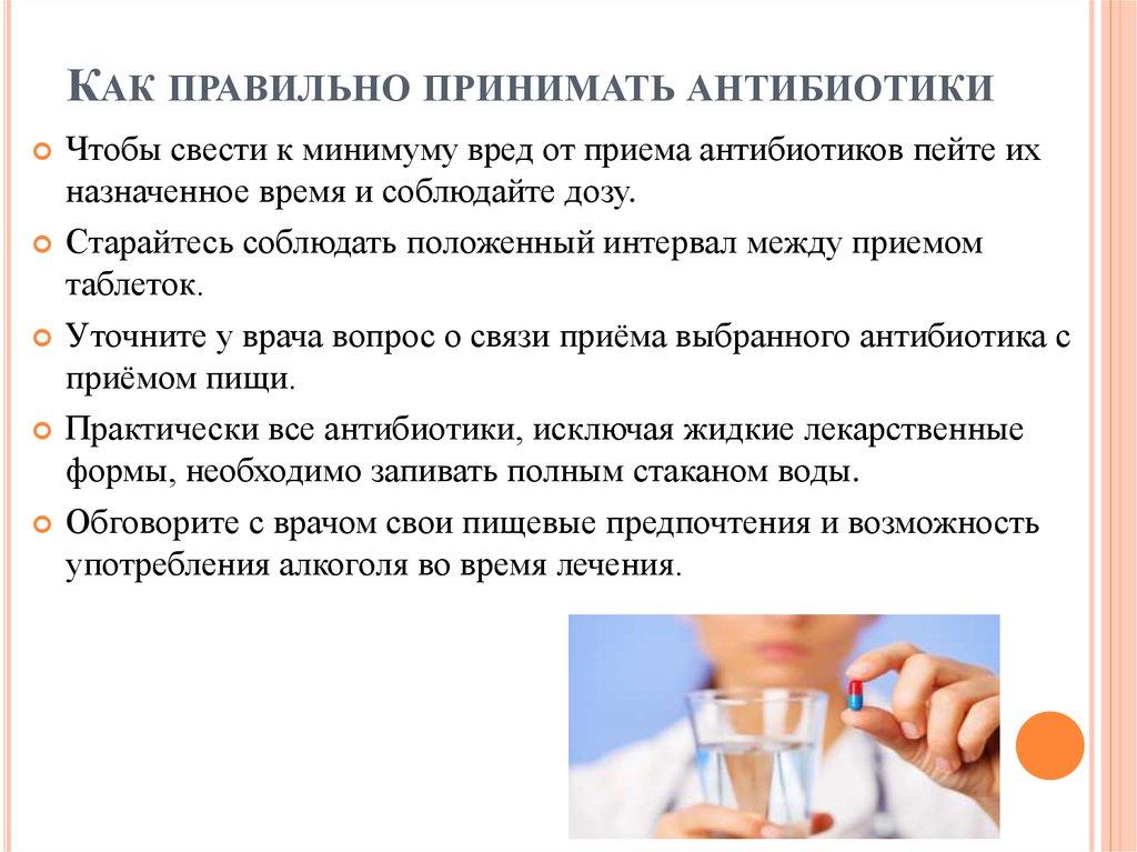 Лучшие антибиотики