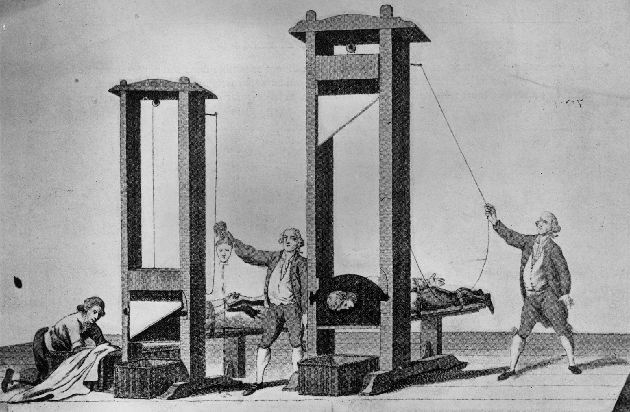 Что такое эшафот и для чего он использовался